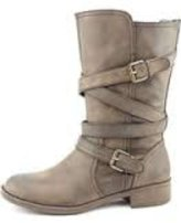 Report Jesslyn Synthetic Mid Calf Boot
