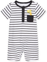 First Impressions Baby Boys' Striped Giraffe Sunsuit, Only at Macy's