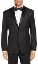 JB Britches Men's Classic Fit Wool Dinner Jacket