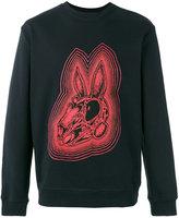 McQ by Alexander McQueen Bunny Be Here Now sweatshirt - men - Cotton - S