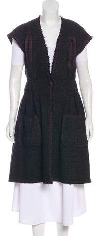 Chanel Tweed A-Line Vest