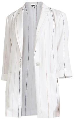 NIC+ZOE, Plus Size Line-Up Blazer