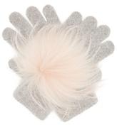 Yves Salomon Fur-trimmed gloves