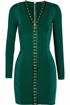 Balmain Green Dress for Women