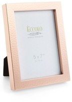 Eccolo Hammered Copper Picture Frame