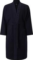 Hugo Boss Boss Waffle Pique Kimono Robe, Dark Blue