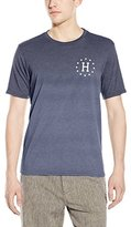 HUF Men's 12 Galaxies Dipped Heather T-Shirt