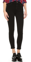 Gold Sign Virtual High Rise Skinny Jeans
