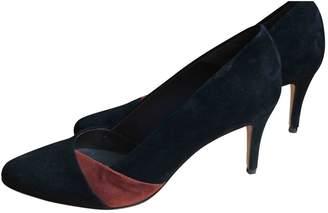 Tila March Black Suede Heels