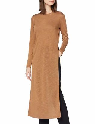 Sisley Women's Maglia Lunga Spacco Long Sleeve Top