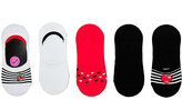 Betsey Johnson Cherry Embroidered Footie Five Pack