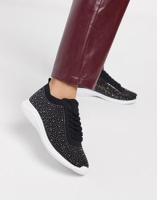Miss KG heatseal flyknit sneakers