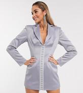 Asos Design DESIGN longline corset blazer