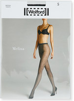 Wolford Melina floral-pattern tights