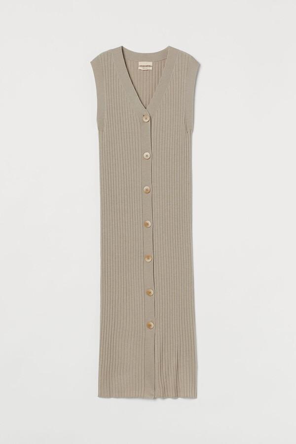 H&M Long sleeveless cardigan