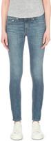 Rag & Bone Faded skinny mid-rise jeans