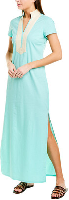 Sail to Sable Linen-Blend Maxi Dress