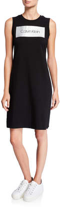 Calvin Klein Blocked Logo T-Shirt Dress
