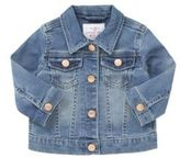 F&F Loopback Stretch Denim Jacket, Infant Girl's