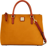 Dooney & Bourke Pebble Grain Willa Zip Satchel