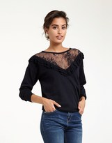 Morgan Lace Insert Top