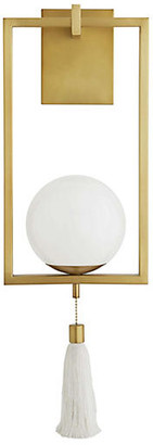 Arteriors Trapeze Sconce - Antique Brass - Ray Booth for