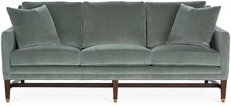 Michael Thomas Collection Arden Sofa - Sage Velvet