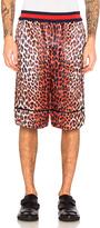 3.1 Phillip Lim Reversible Leopard Shorts
