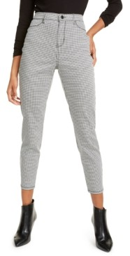 Vanilla Star Juniors' Houndstooth Jeans