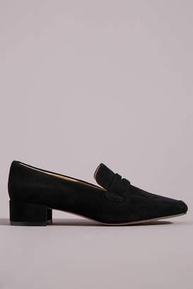 Anthropologie Hadley Block-Heeled Loafers