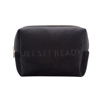 Mytagalongs Vixen Jetsetready Large Cosmetic Pouch - Black