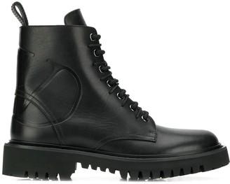 Valentino VLOGO combat boots
