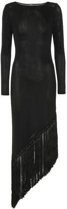 Cult Gaia Sharona fringe-trimmed dress