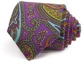 Robert Talbott Allover Paisley Multi Print Classic Tie