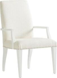 Lexington Avondale Upholstered Arm Chair in White