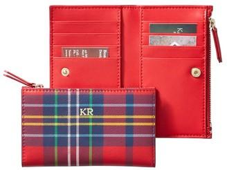 Mark & Graham Leather Zipper Wallet