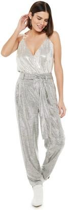 JLO by Jennifer Lopez Women's Sequin Bodysuit