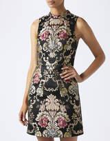 Monsoon Goldie Jacquard Dress