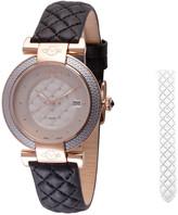 Gevril Women's Berletta Diamond Watch With Interchangeable Strap