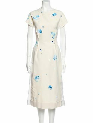 Marni 2019 Midi Length Dress w/ Tags Brown
