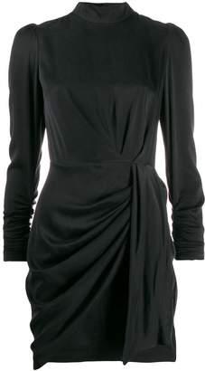 Zimmermann Espionage draped mini dress