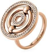 Folli Follie Bonds rose gold station ring
