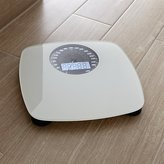 Crate & Barrel Digital White Bathroom Scale