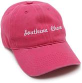 Steve Madden Pink 'Southern Charm' Baseball Cap