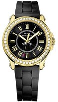 Juicy Couture Women's 1901069 Pedigree Black Silicone Strap Watch