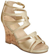 Aerosoles Strappy Wedge Sandals - Capital