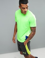 Puma Pe Running Short Sleeved T-shirt In Green 51268946