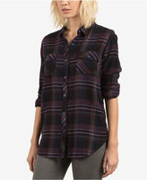 Volcom Juniors' Desert Fly Cotton Plaid Shirt