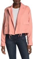 Tularosa Arya Crop Notch Collar Jacket