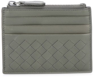Bottega Veneta Intrecciato zip top card case